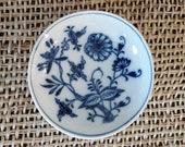 Vintage Meissen Blue Onion Small Dish