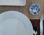 Vintage Meissen Blue Onion Salt Bowl by Carl Teichart