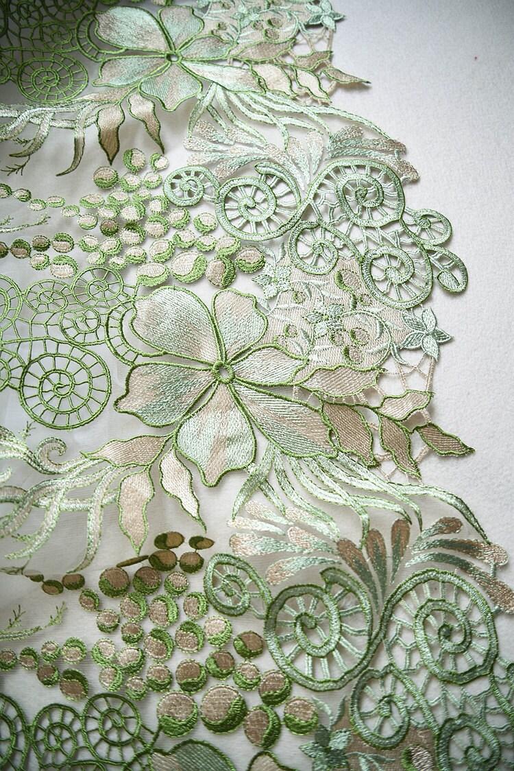 6d0520d55a32 Nouveau Français dentelle fleur laisser design tissu dentelle de dentelle  pour mariée maille dentelle tissu de