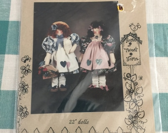 Mulberry Street Doll Sewing Pattern P136