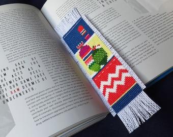 Cross Stitch Bookmark Pattern, Plant Cross Stitch Cactus Embroidery, Cactus Needlepoint, Cross Stitch Plants, Modern Cross Stitch