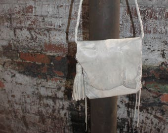 Tie Dye Leather Bag