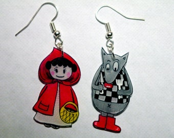Little Red Riding Hood and her Wolf!