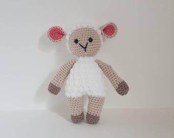 Sheep Toy, Crochet Sheep Toy, Cute Soft Sheep Toy, Sheep Plushie, Handmade Crochet Sheep, Amigurumi Sheep - MADE TO ORDER
