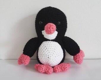 Krtek the Little Mole Toy, Crochet Krtek Toy, Crochet Mole Toy, Czech Little Mole Toy, Krtecek, Amigurumi Krtek - MADE TO ORDER