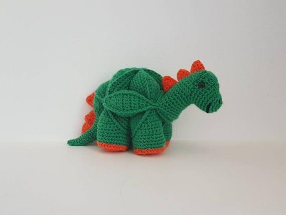 Dinosaurier Puzzle Ball Spielzeug Häkeln Dinosaurier Puzzle Etsy