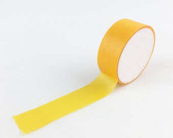 Solid Yellow Ochre Craft Washi Tape // 15mm // Paper Tape // BBB Crafting Supplies // R-SL005