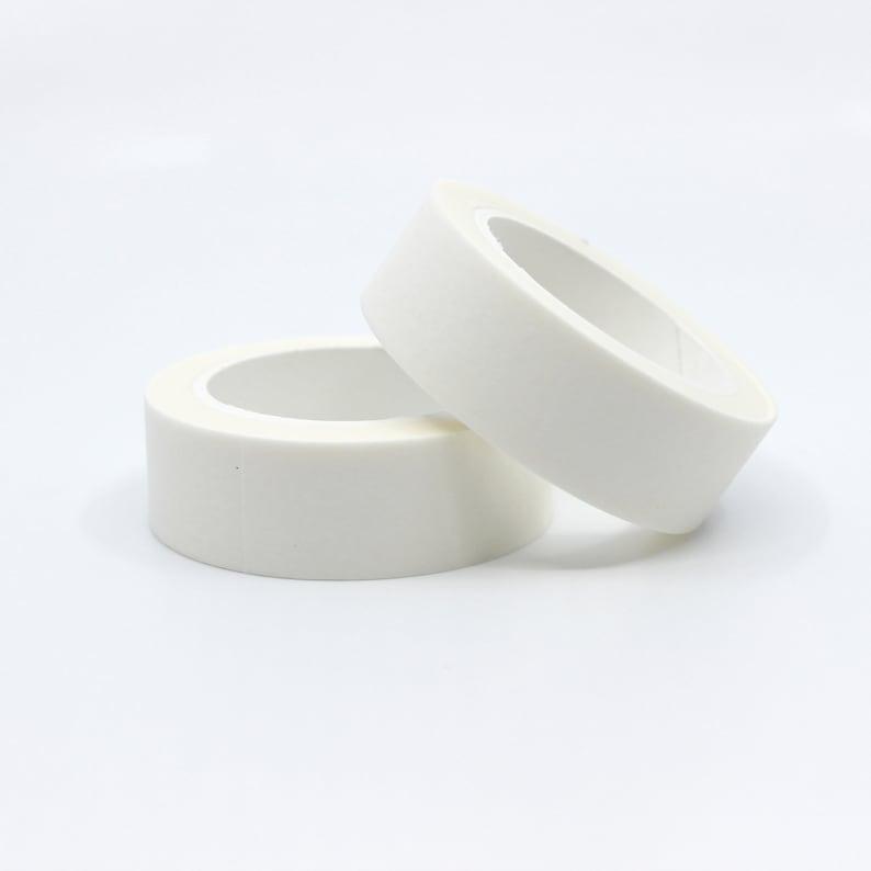 Solid White Washi Tape Japanese Paper Tape Elegant image 0