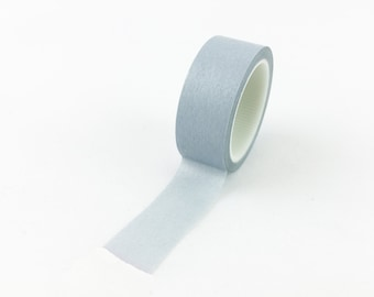 Solid Warm Grey Washi Tape // 15mm // Paper Tape // BBB Crafting Supplies // R-SL074