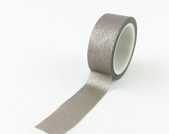 Solid Champagne Washi Tape // 15mm // Japanese Paper Tape // BBB Crafting Supplies // R-SL078