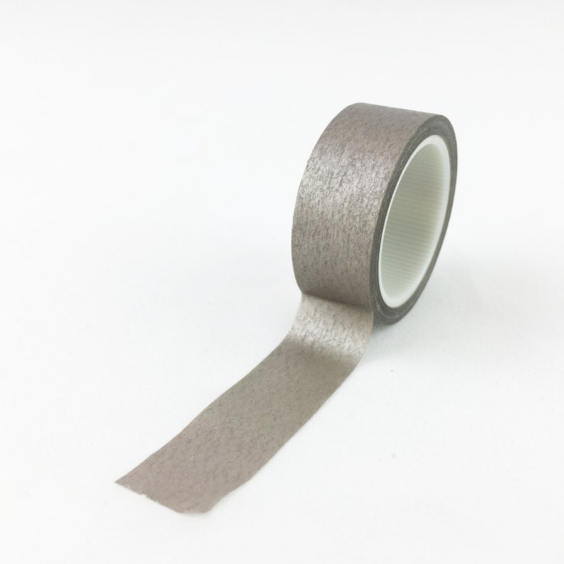Solid Champagne Washi Tape // 15mm // Japanese Paper Tape // image 0