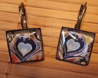 love theme earrings