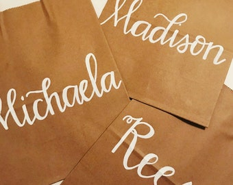 Personalized Gift Bags, wedding gift bags, Bridesmaid Gift Bags, Bridal Shower Gift Bag, Bachelorette Party Bags, Welcome Bags, Custom Bags