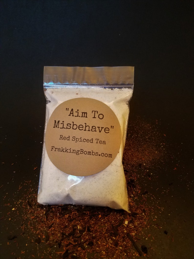 Aim To Misbehave Red Spiced Tea Bath Fizz image 0