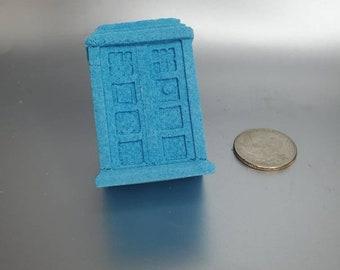 Big Blue Box (Pomegranate Bath Bomb) - TARDIS