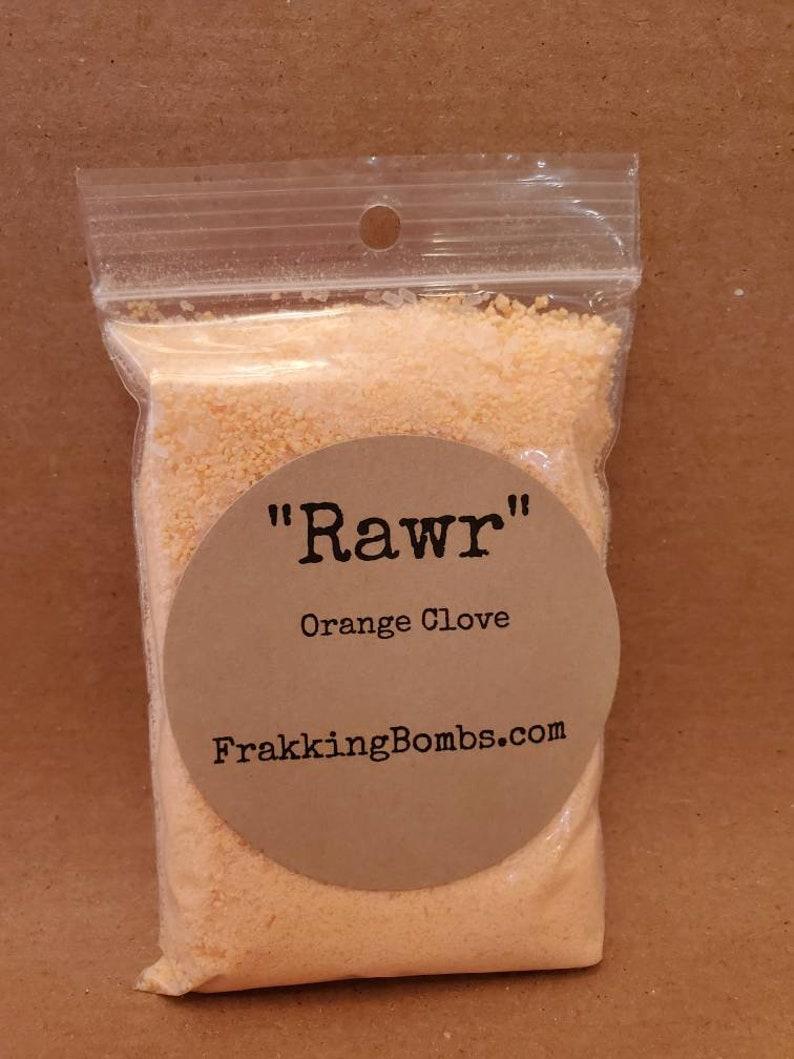 Rawr Orange Clove Bath Fizz image 0