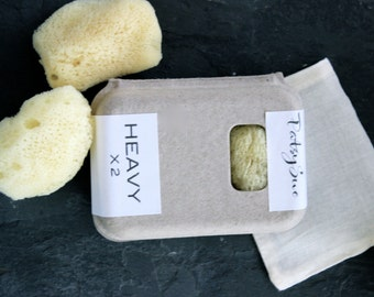 Sea Sponge Tampons | Set of 2 Heavy/Large Natural Tampons | Natural Menstrual Sponges | Reusable Tampons | Washable Tampons | FREE SHIPPING