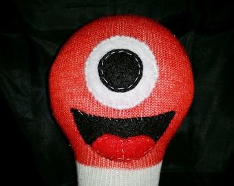 Custom Handmade 3-legged Sock Monster