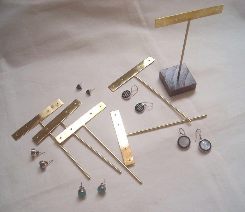 20 pcs. COULEUR or STUD boucles d'oreilles composante (pour (pour (pour les 2 paires) #JewelryDisplays #GoldEarringDisplay #GoldJewelryDisplays #StudEarringDisplay b193f8