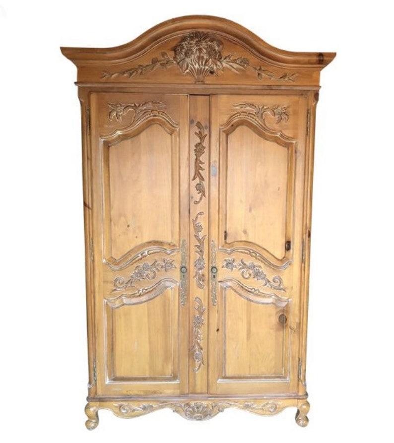 Ethan Allen Legacy Huge French Armoire Buyer Pays Shipping