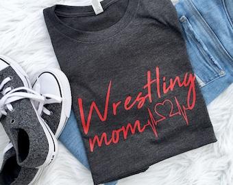 9756f282 wrestling mom shirt, wrestling mom, wrestling, wrestling shirt, mom, sports  mom, glitter shirt, wrestling tshirt, wrestling mom tee
