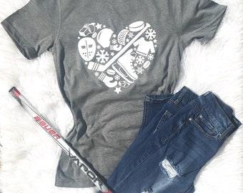 d3884a9d38 Hockey Mom, Shirt for Mom, Hockey life, Hockey Gifts, Hockey fan, Hockey  Gifts, Christmas Hockey, Hockey shirt, Hockey girl