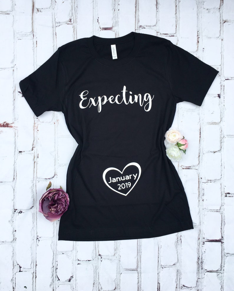 9490f7c4f Pregnancy Announcement Expecting Twins Shirt Maternity | Etsy