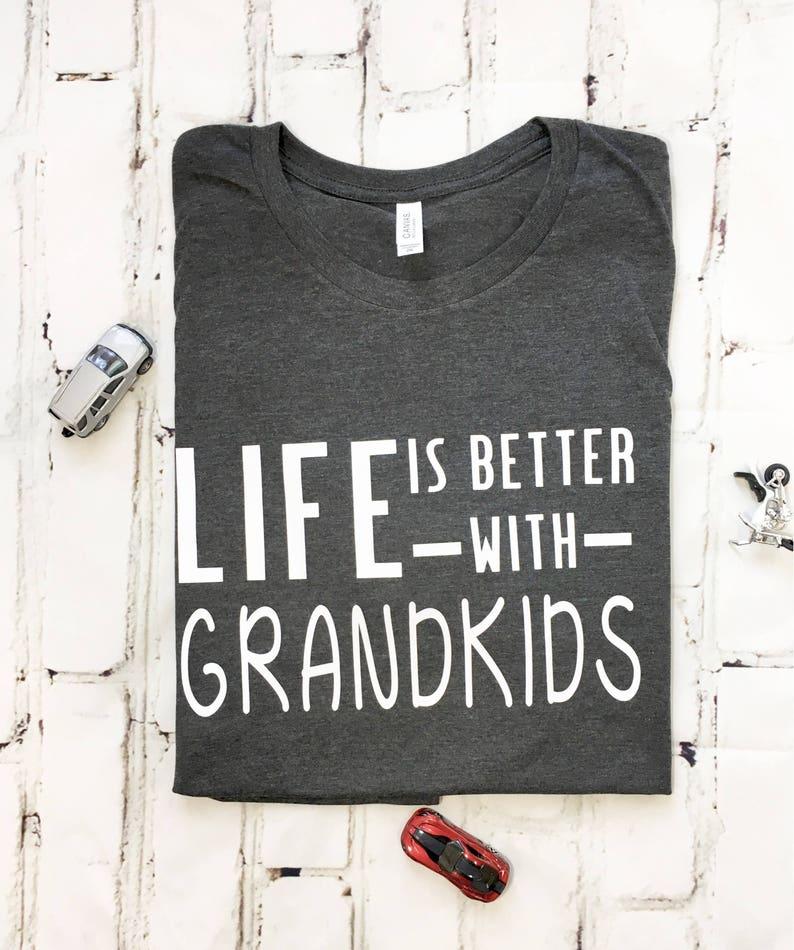 Grandpa Shirt Better With Grandkids Gifts For Grandpa