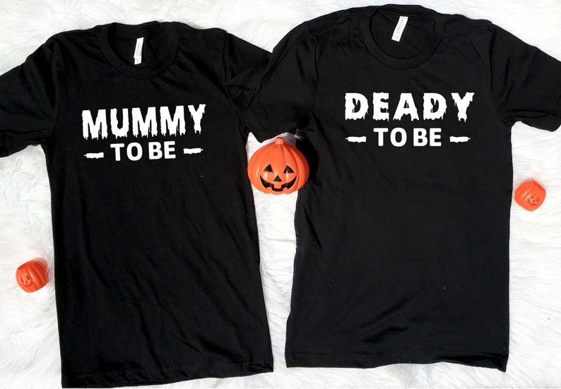 Pregnancy Halloween Shirt, Pregnant Halloween, Pregnant Halloween Shirt,  Maternity Tee, Pregnancy Announcement, Mummy To Be, Deady To Be