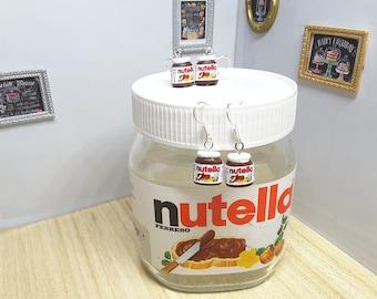 Nutella earring