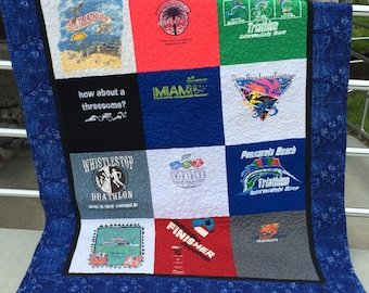 T-Shirt Memory Quilts