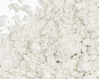 White Kaolin Clay Powder for Detoxifying Facial Mask, Soapmaking, Skincare Exfoliate Soap Additive Shave Soap
