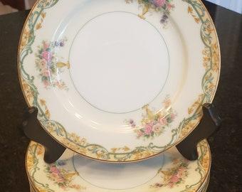Vintage Noritake Arvana Bread Plates - Arvana by Noritake Bread Plates - made in Japan - set of 6 plates