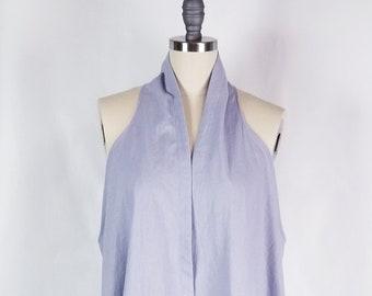 linen, cotton, sleeveless, jacket, coat, vest, pockets