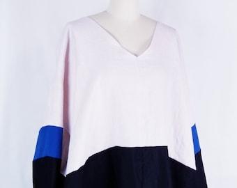 linen, cotton, long sleeves, dress, oversized, comfortable
