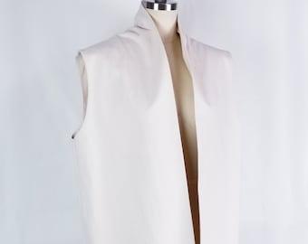 vest, cotton, inside pockets,