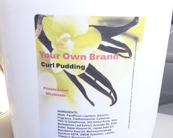 6-in-1 Curl Pudding Private Label Wholesale- Your Own Brand