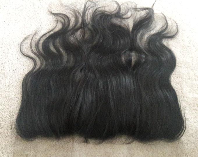 Virgin Raw Human Hair 13x4 Lace Frontal