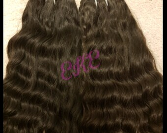 Raw Indian Temple Hair (Wavy)