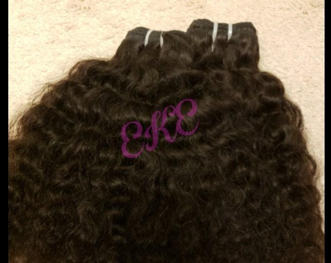 Raw Cambodian Curly Human Hair SEA Hair