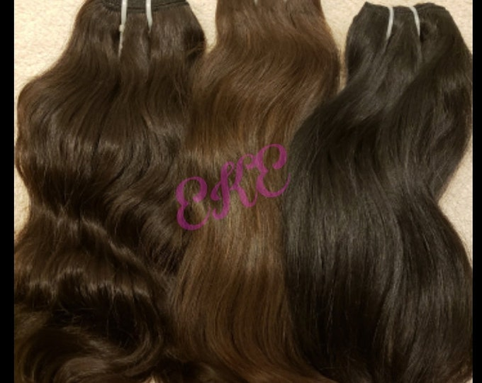 Raw Indian Temple Hair (Straight)