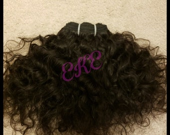 Raw Indian Temple Hair (Curly)