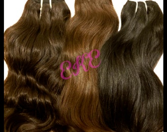 Wholesale Raw Unprocessed Temple Hair 100 Grams Each 10 Bundle Minimum Indian Hair-Vietnam Hair-Sea Hair