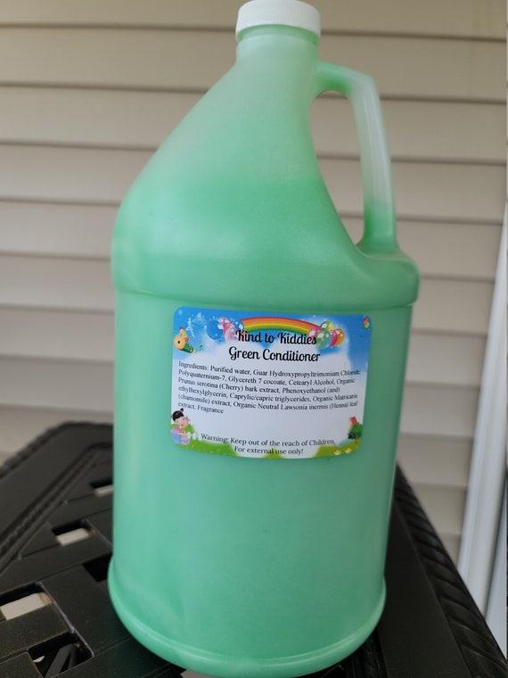 Kids Gallon Conditioner For Resale Bubble Gum Scent-White Label-Wholesale-Private Label Start Your Own Business
