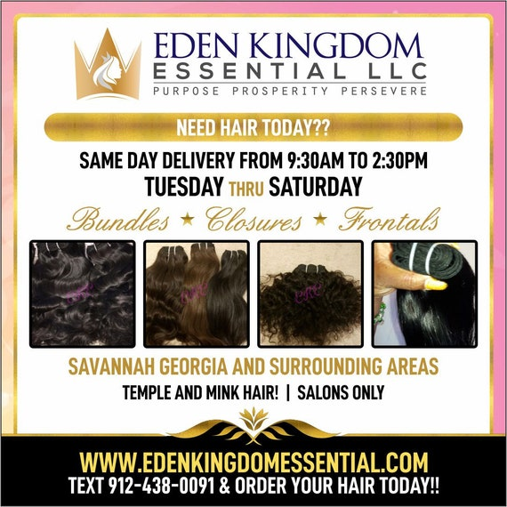 Affordable Human Hair Same Day Delivery Text 912-438-0091 To Order Savannah Georgia And Surrounding Areas Temple Hair And Human Hair