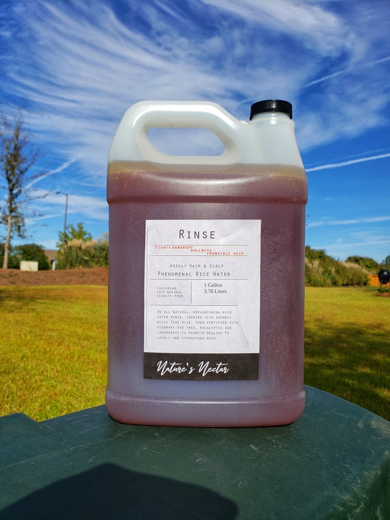 Phenomenal Rinse! - Black Rice Water Wholesale Private Label 1 Gallon! World Wide Shipping!!