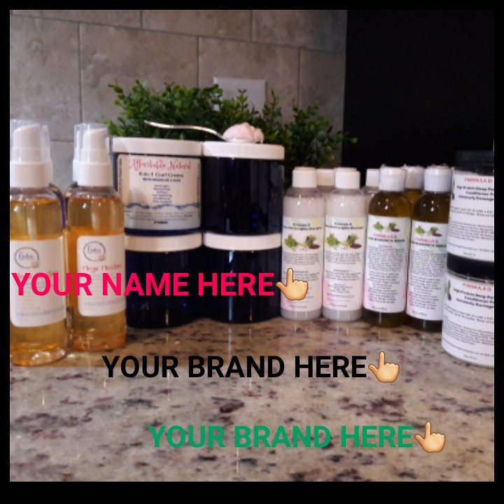 Private Label Hair Care Products Natural Hair Products Wholesale 10 Serum 10 Shampoo 10 Conditioner Your Own Brand Black Hair Care