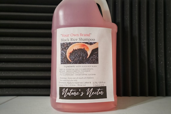 Extraordinary Cleanse! - Black Rice Hair and Scalp Shampoo 1 gallon  wholesale private label