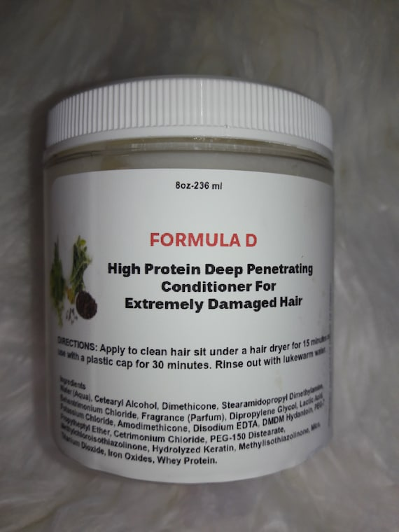 High Protein Deep Penetrating Conditioner For Extremely Damaged Hair And Breakage