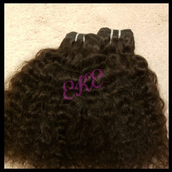 Raw Cambodian Curly Human Hair SEA Hair